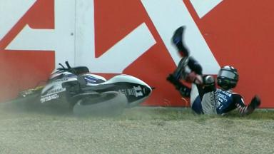 Motegi 2012 - MotoGP - RACE - Action - Ben Spies - Crash