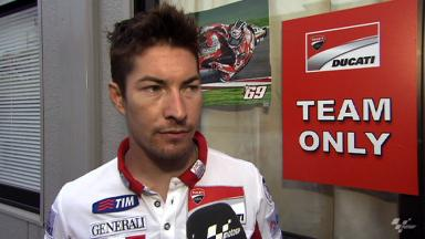 Difficult Motegi race for Hayden