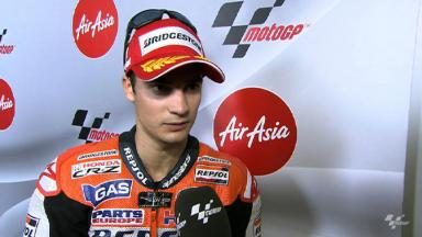 Pedrosa on hard-fought victory