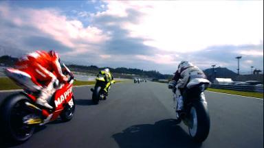 OnBoard Special - Marquez 1st lap at Motegi