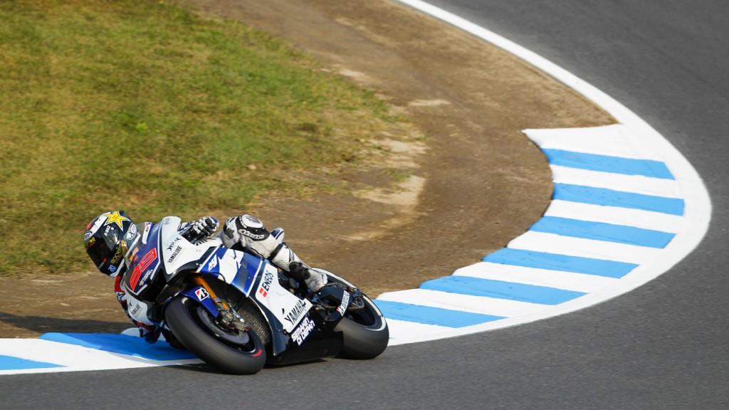 Jorge Lorenzo, Yamaha Factory Racng, Motegi WUP