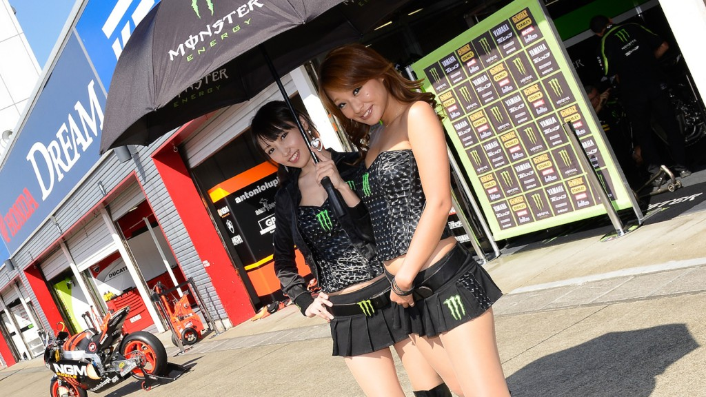 Paddock Girl, AirAsia Grand Prix of Japan