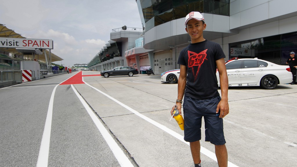 Zulfahmi Khairuddin, Sepang International Circuit