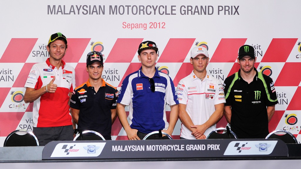 Malaysian Motorcycle Grand Prix Press Conference
