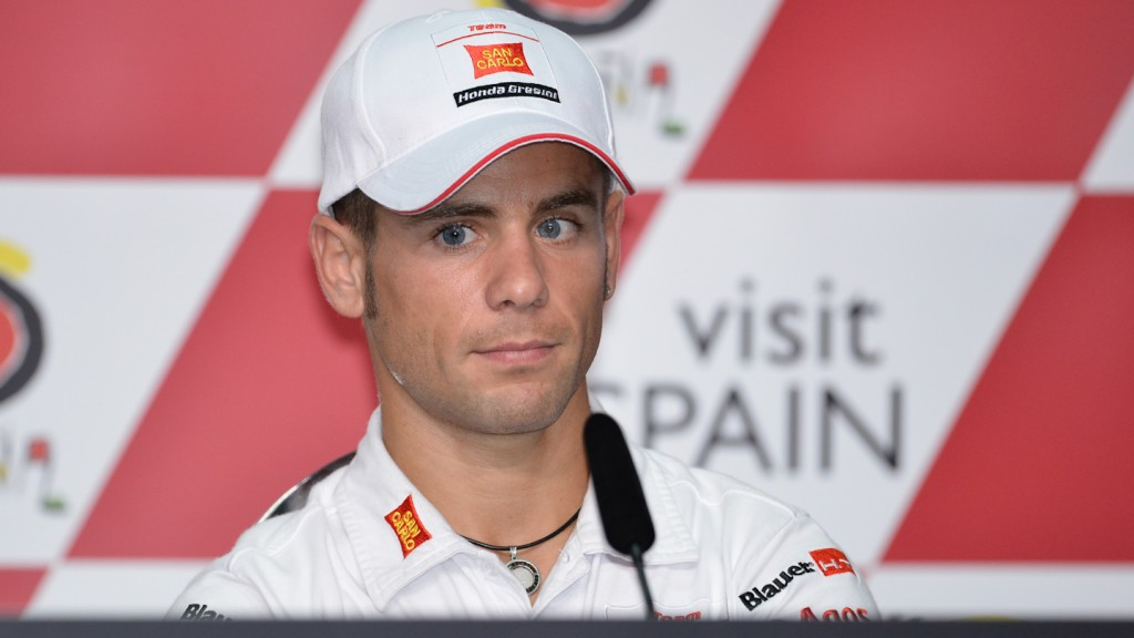 Alvaro Bautista, San Carlo Honda Gresini, Malaysian Motorcycle Grand Prix Press Conference