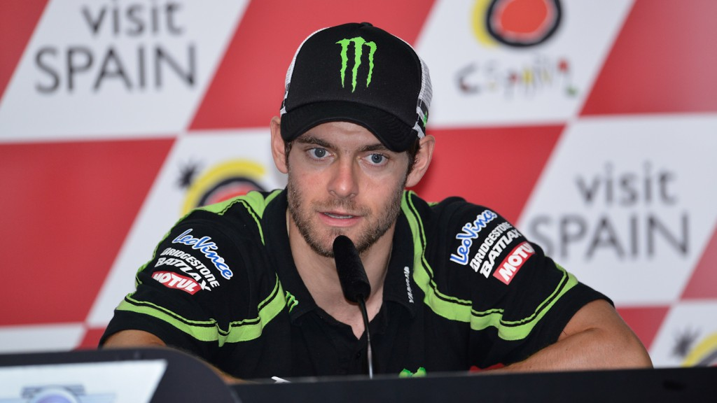 Cal Crutchlow, Monster Yamaha Tech 3, Malaysian Motorcycle Grand Prix Press Conference
