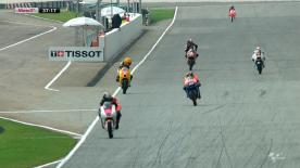 In the second Moto3™ free practice session at the Malaysian Motorcycle Grand Prix in Sepang that was cut short that was cut short by rain it was Mapfre Aspar Team Moto3's Jonas Folger who once again topped the timesheets ahead of Sandro Cortese and Zulfahmi Khairuddin.