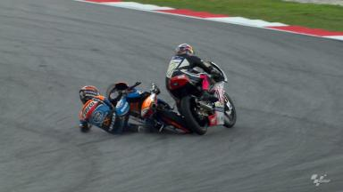 Sepang 2012 - Moto3 - FP2 - Action - Miguel Oliveira - Crash