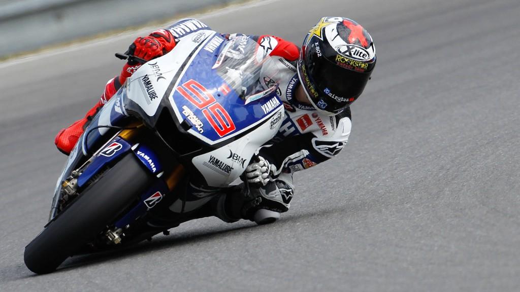 Jorge Lorenzo, Yamaha Factory Racing, Sepang FP2