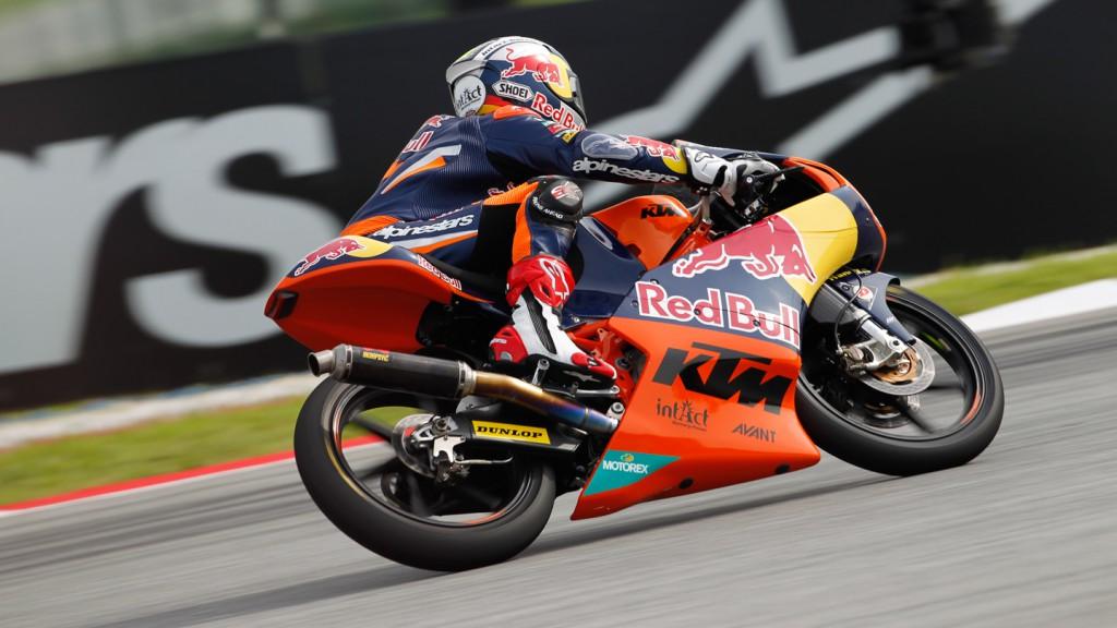 Sandro Cortese, Red Bull KTM Ajo, Sepang FP2