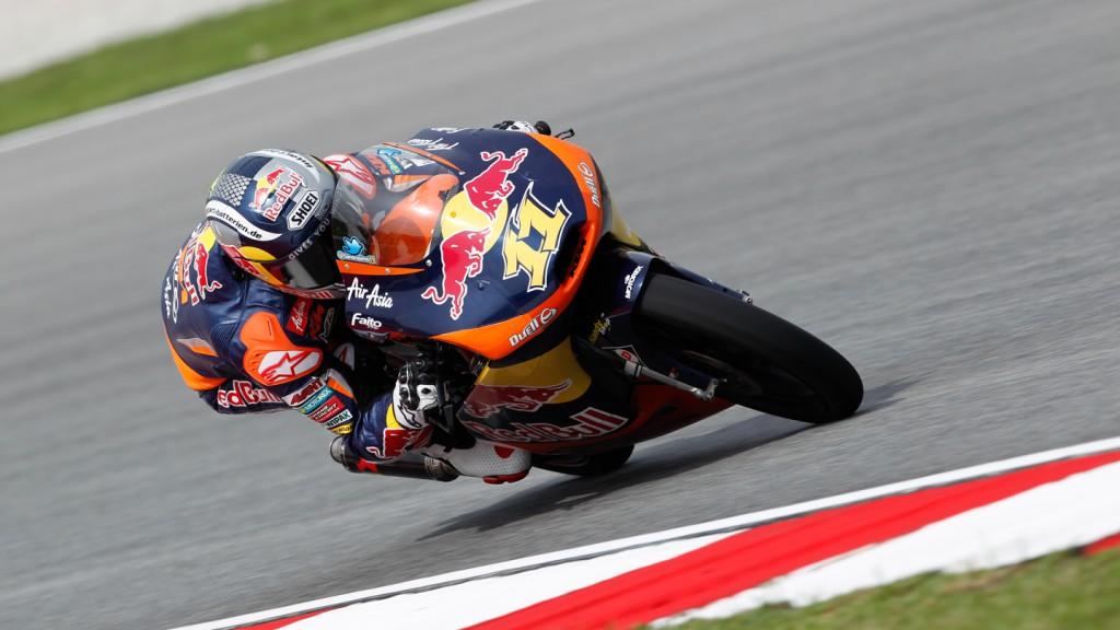 Sandro Cortese, Red Bull KTM Ajo, Sepang FP1