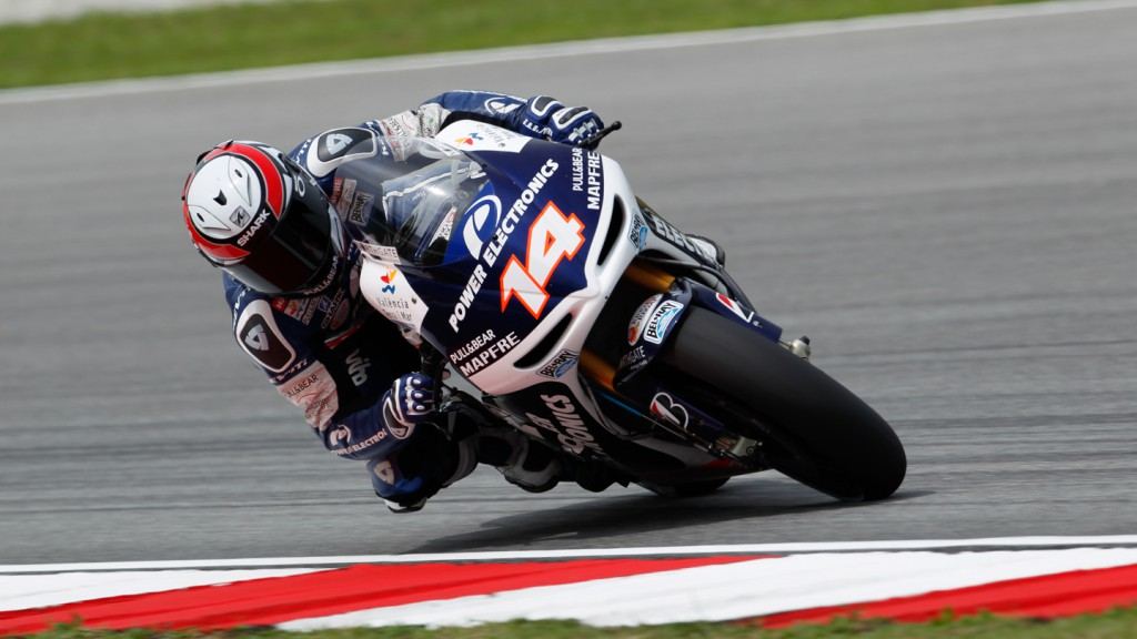 Randy de Puniet, Power Electronics Aspar, Sepang FP2