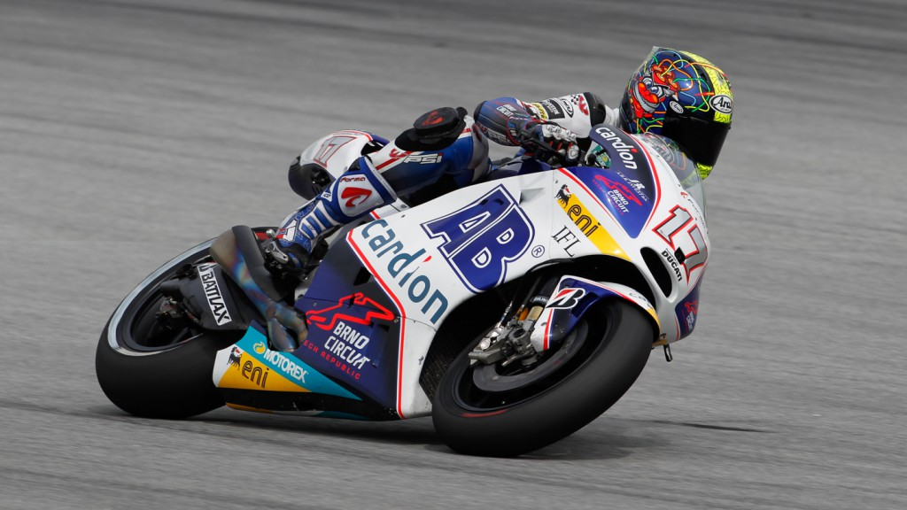 Karel Abraham, Cardion AB Motoracing, FP2