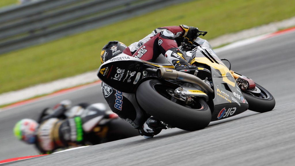 Scott Redding, Marc VDS Racing Team, Sepang FP1