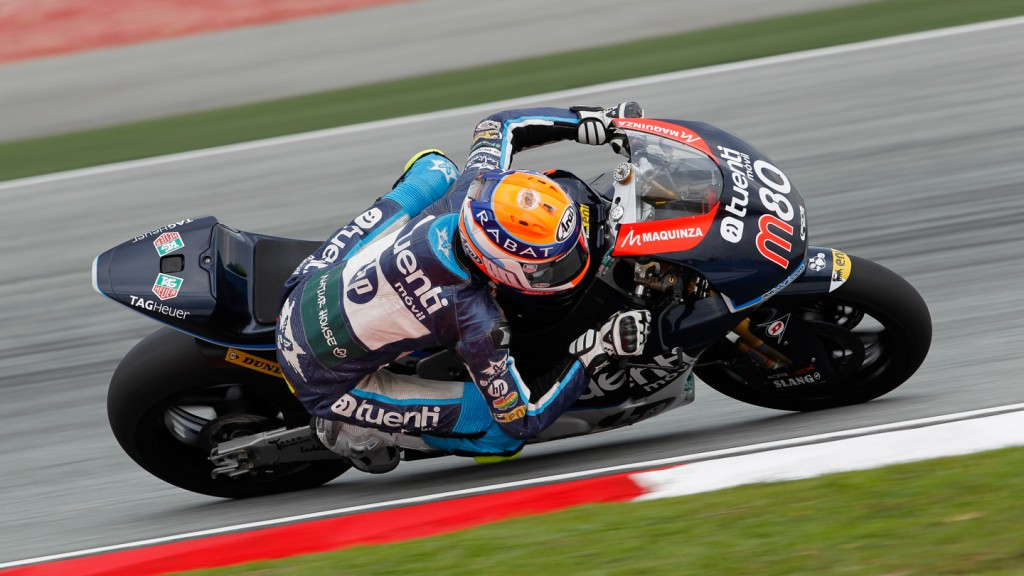 Esteve Rabat, Tuenti Movil HP 40, Sepang FP1