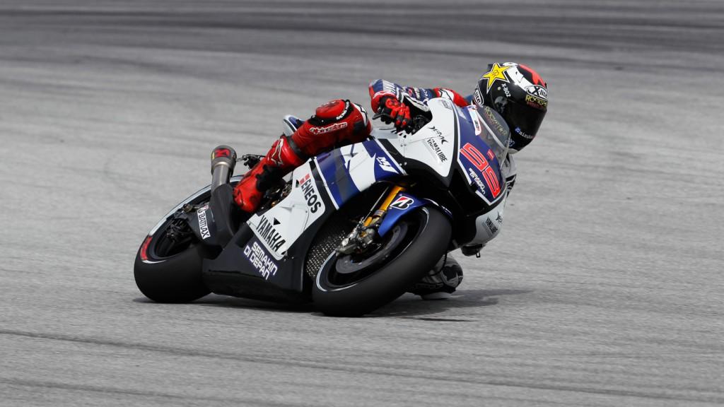Jorge Lorenzo, Yamaha Factory Racing, Sepang FP1