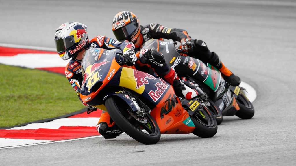 Sandro Cortese, Nicklas Ajo, Red Bull KTM AJo, TT Motion Events Racing, Sepang QP