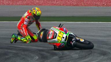 Sepang 2012 - MotoGP - FP3 - Action - Valentino Rossi - Crash