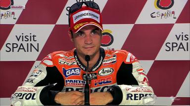 Sepang 2012 - MotoGP - QP - Interview - Dani Pedrosa