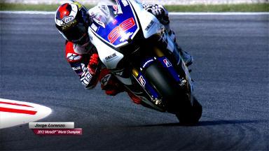 Jorge Lorenzo - 2012 MotoGP™ World Champion