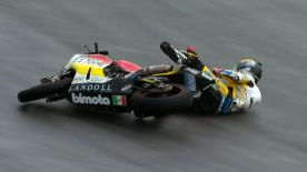 Sepang 2012 - Moto2 - FP3 - Action - Marcel Schrotter - Crash