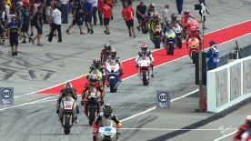 In a Moto2™ practice session that was once again marred by rain at the Malaysian Motorcycle Grand Prix in Sepang it was Italtrans Racing Team's Takaaki Nakagami who went fastest in the preceding dry run ahead of Johann Zarco and Scott Redding.