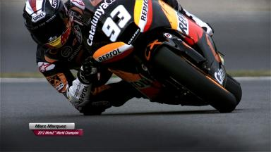 Marc Marquez - 2012 Moto2™ World Champion