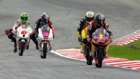 Moto3™ qualifying for the Malaysian Motorcycle Grand Prix in Sepang saw AirAsia-SIC-Ajo's Zulfahmi Khairuddin clinch a historic maiden-pole position at his home grand prix in a fantastic display ahead of Jonas Folger and Sandro Cortese.