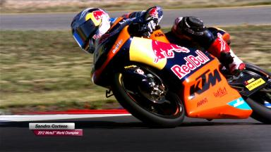 Sandro Cortese - 2012 Moto3™ World Champion