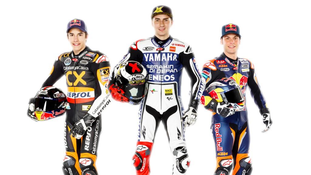 2012 MotoGP Champions