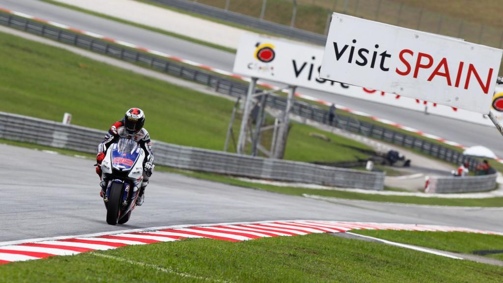 Jorge Lorenzo, Yamaha Factory Racing, Sepang QP