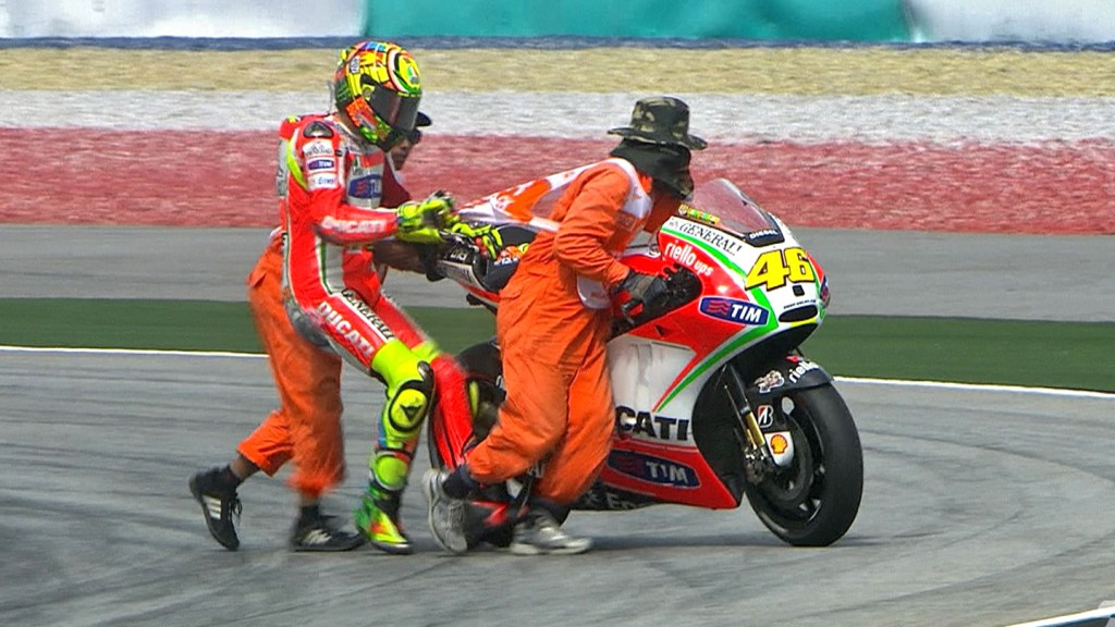 Valentino Rossi, Ducati Team, Sepang FP3
