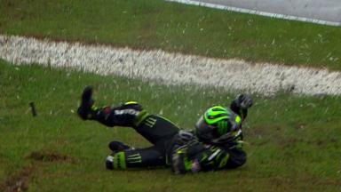 Sepang 2012 - MotoGP - RACE - Action - Cal Crutchlow - Crash