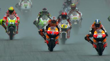 Sepang 2012 - MotoGP - RACE - Action - Race start