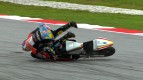Sepang 2012 - Moto3 - RACE - Action - Louis Rossi - Crash
