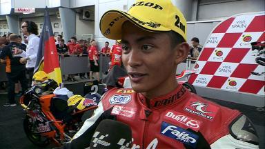 Sepang 2012 - Moto3 - RACE - Interview - Zulfahmi Khairuddin