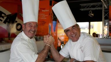 Karlos Arguiñano & Ginés Guirado