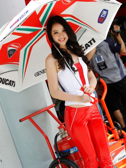 Paddock Girl, Malaysian Motorcycle Grand Prix