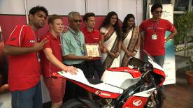 The Face of Mahindra Racing