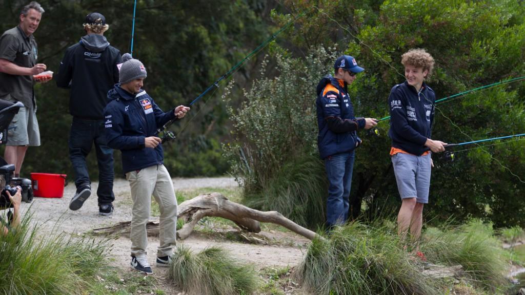 Miller, West, Sissis, Stoner, AirAsia Australian Grand Prix MotoGP preeventAirAsia Australian Grand Prix MotoGP preevent