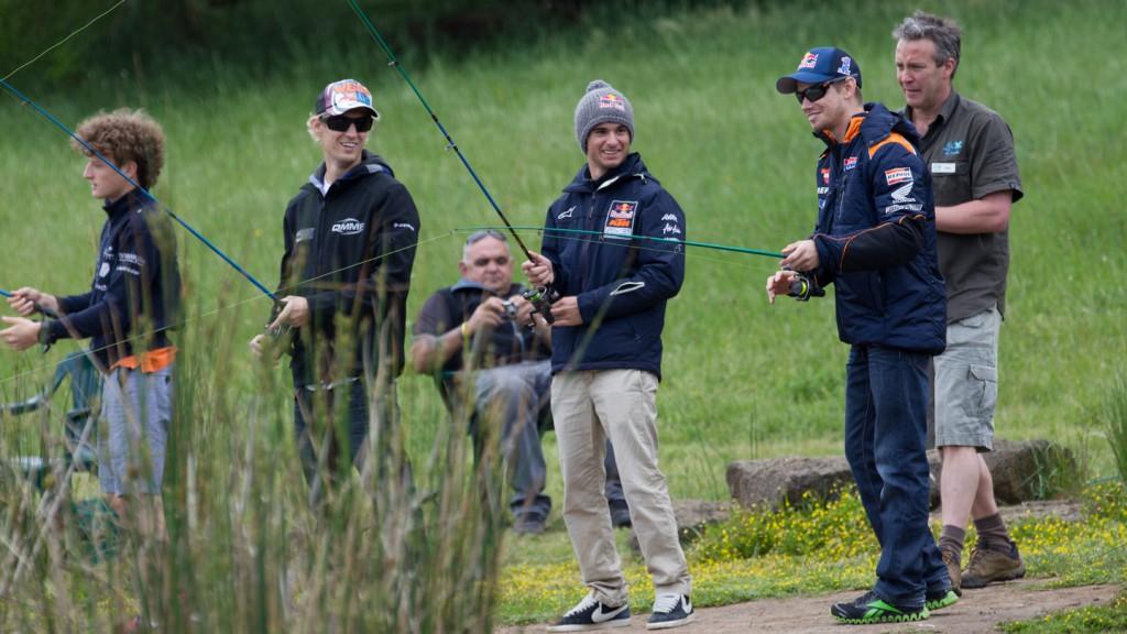 Miller, West, Sissis, Stoner, AirAsia Australian Grand Prix MotoGP preevent