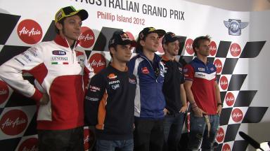 Australian GP Pre-event Press Conference