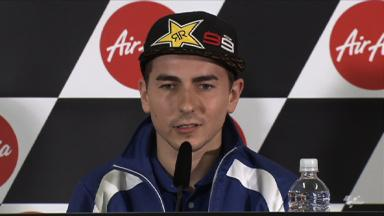 Lorenzo keeping title thoughts at the back of his mind