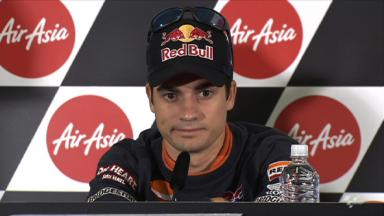Pedrosa taking things session by session as season end nears