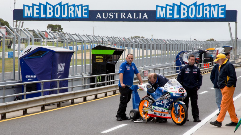 Maverick Viñales bike, Phillip Island