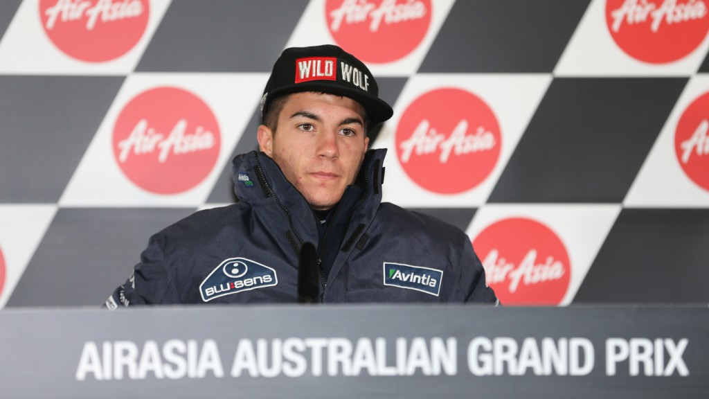 Maverick Viñales Press Conference, Phillip Island
