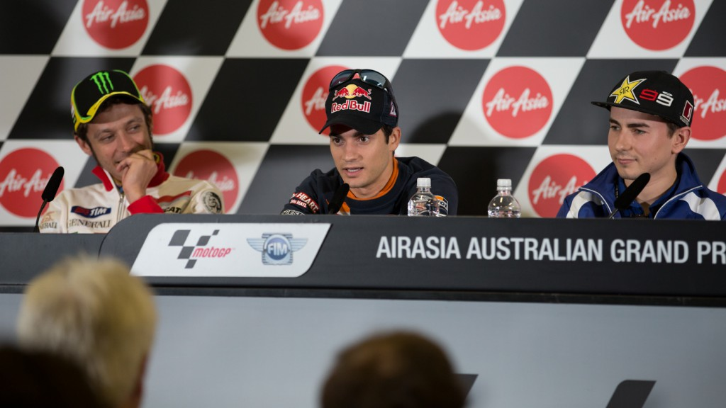 Dani Pedrosa, Repsol Honda Team, AirAsia Australian Grand Prix Press Conference