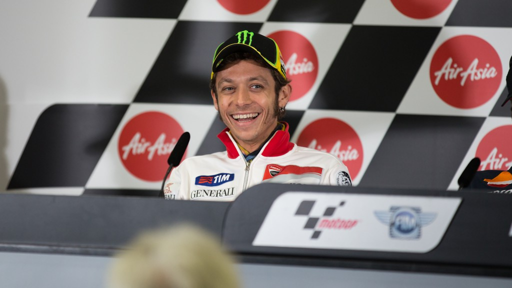 Valentino Rossi, Ducati Team, AirAsia Australian Grand Prix Press Conference