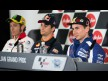 Jorge Lorenzo, Yamaha Factory Racing, AirAsia Australian Grand Prix Press Conference