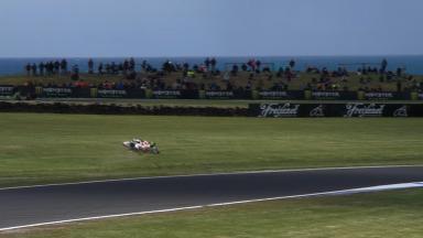 Phillip Island 2012 - MotoGP - FP1 - Action - Michele Pirro - Crash